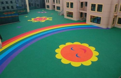 幼兒園塑膠場地EPDM